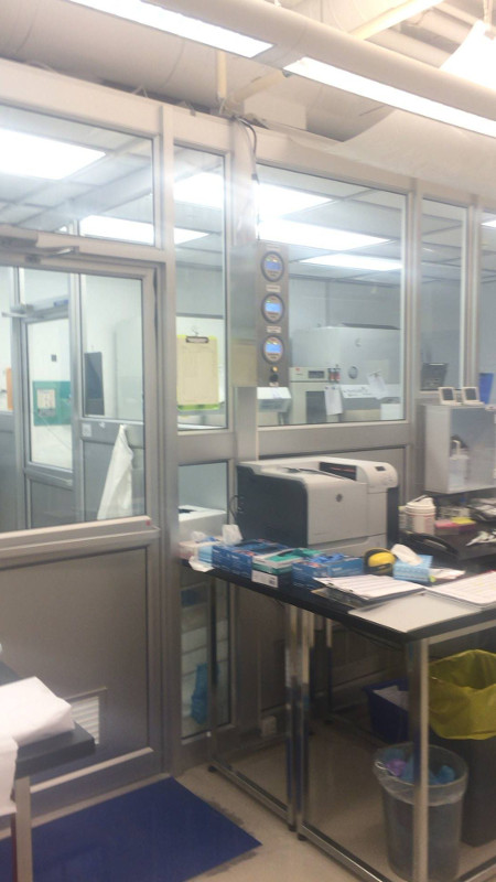 stem cell clean room